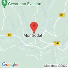Carte / Plan Montrodat