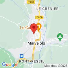Carte / Plan Collégiale Notre-Dame-de-la-Carce de Marvejols