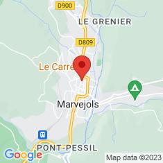 Carte / Plan Marvejols