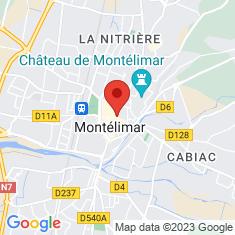 Carte / Plan Montélimar