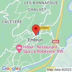 Carte / Plan Embrun (Hautes-Alpes)
