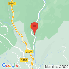 Carte / Plan Abbaye du Chambon