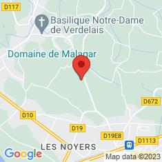 Carte / Plan Domaine de Malagar