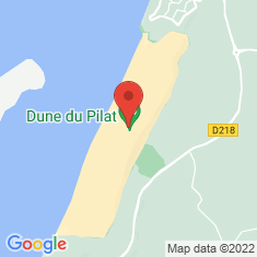 Carte / Plan Dune du Pilat