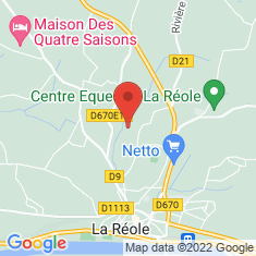 Carte / Plan La Réole