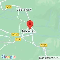 Carte / Plan Ancelle (Hautes-Alpes)
