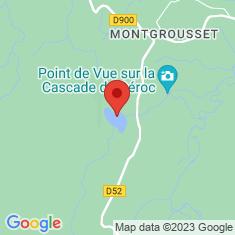 Carte / Plan Lac des Salhiens