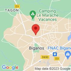 Carte / Plan Biganos