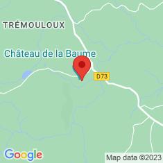 Carte / Plan Château de la Baume