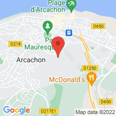 Carte / Plan Arcachon