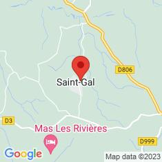 Carte / Plan Saint-Gal