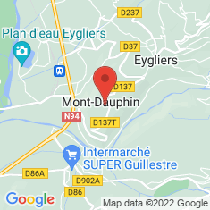 Carte / Plan Mont-Dauphin