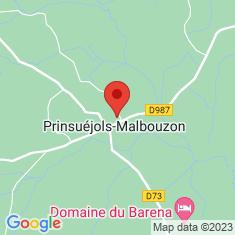 Carte / Plan Malbouzon