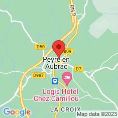 Carte / Plan Aumont-Aubrac
