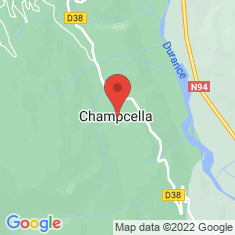 Carte / Plan Champcella