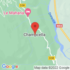 Carte / Plan Champcella