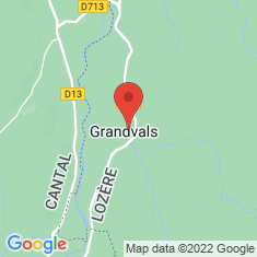 Carte / Plan Grandvals