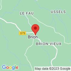 Carte / Plan Brion (Lozère)