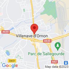 Carte / Plan Villenave-d'Ornon