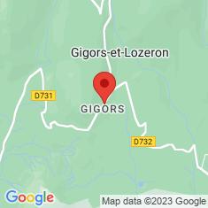 Carte / Plan Gigors-et-Lozeron