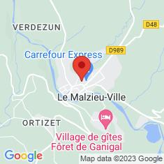 Carte / Plan Le Malzieu-Ville