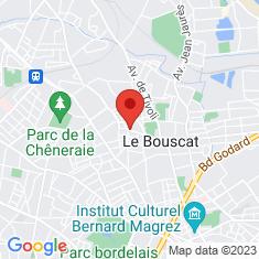 Carte / Plan Le Bouscat