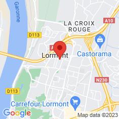 Carte / Plan Lormont