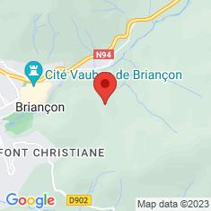 Carte / Plan Fort Dauphin (Briançon)