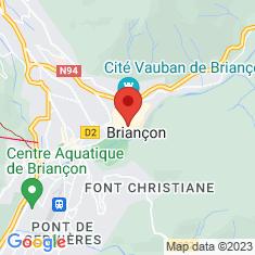 Carte / Plan Chapelle des Pénitents noirs de Briançon