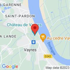 Carte / Plan Château de Vayres