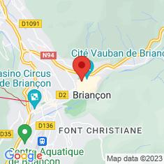 Carte / Plan Église Notre-Dame-et-Saint-Nicolas de Briançon