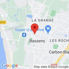 Carte / Plan Bassens (Gironde)