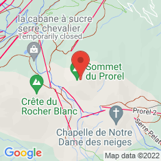 Carte / Plan Mont Prorel