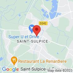 Carte / Plan Saint-Sulpice-et-Cameyrac