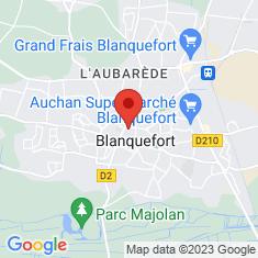 Carte / Plan Blanquefort (Gironde)