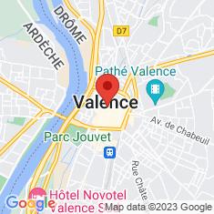Carte / Plan Valence (Drôme)