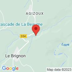 Carte / Plan Cascade de la Beaume