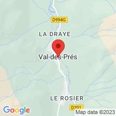 Carte / Plan Église Saint-Claude de Val-des-Prés