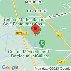 Carte / Plan Golf du Médoc