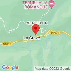 Carte / Plan La Grave