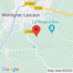 Carte / Plan Grotte de Lascaux