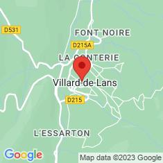 Carte / Plan Villard-de-Lans