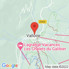 Carte / Plan Valloire