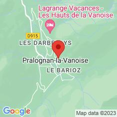 Carte / Plan Pralognan-la-Vanoise