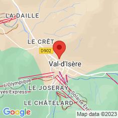 Carte / Plan Val-d'Isère