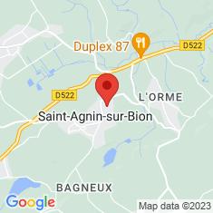 Carte / Plan Saint-Agnin-sur-Bion