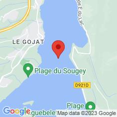 Carte / Plan Lac d'Aiguebelette
