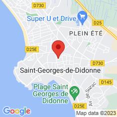 Carte / Plan Conche de Saint-Georges