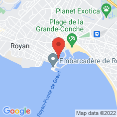 Carte / Plan Royan