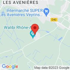 Carte / Plan Walibi Rhône-Alpes
